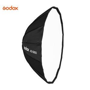 Godox AD-S85S 85cm tiefsitzender Parabolic-Softbox-Regenschirm Godox-Halterung Silberreflektor fuer Godox AD400Pro Flash Light Reflexschirm Schirmsoftbox Reflektor Parabolreflektoren Flächenreflektoren