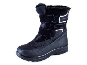 Herren Winter Stiefel Boots schwarz Gr. 42