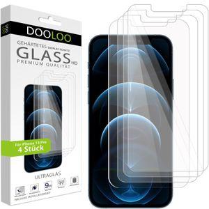 4er Pack iPhone 13 Pro Panzerglas Panzerfolie Schutzglasfolie Displayschutzglas 9H