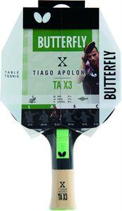 Tiago Apolonia TAX3 Tischtennisschläger Trainingsschläger TT Butterfly