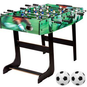 "GamesPlanet® Tischfussball ""Belfast"" klappbar, Soccer print"