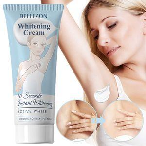 Bleaching Creme, 60ml Achselbeine Knie Private Teile Aufhellende Whitening-Creme Hautaufhellende Creme für alle Hauttypen