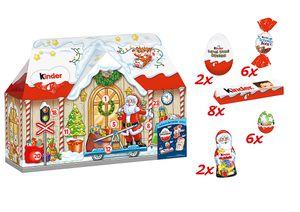 Ferrero kinder Mix Adventskalender 3D-Haus 234g