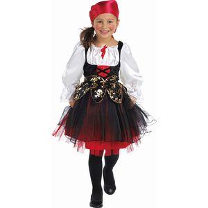 Kinder Piratin Kostüm /  Größe: 128