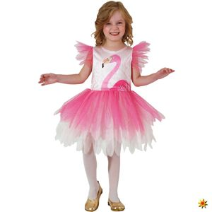 Kinder Kostüm Flamingo Rosalie, Kleid, Größe:104