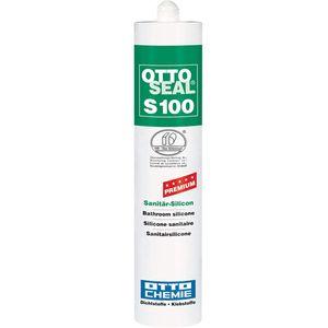 Ottoseal Premium Sanitär Silicon S 100 Farbe C 01 weiß 300ml