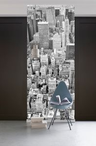 "Komar Digitaldruck Vlies Panel ""Uptown"" 100 x 280 cm, bunt, 021-DV1"