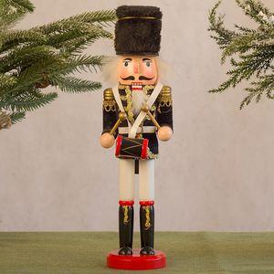 Nussknacker Soldat Marionette Weihnachten 30CM Weinkabinett Dekoration CZZ201013003PP