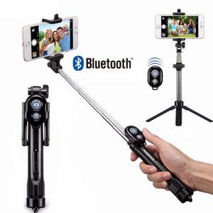 Selfie Stick Bluetooth Stativ Monopod Smartphone Selfie-Stange mit Fernbedienung