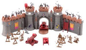 Johntoy Medieval Knights Ritter Burg mit 37-Stück