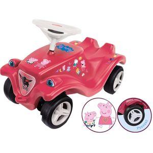 Simba Dickie Vertriebs GmbH 42605662 BIG-Bobby-Car ''Peppa Pig'', ca. 59x27x33 cm, pink/rosa (-exklusiv!)