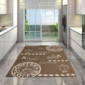 Merinos Maestro Fleatwave Küche Teppich Küchenteppich 120 x170 cm