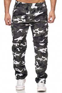 Herren Cargo Hose Variable Beinlänge Bermuda Shorts, Farben:Camouflage-2, Größe Hosen:S
