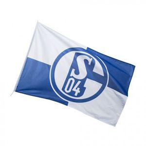 Schalke 04 Hissfahne Karo 100 x 150 0 STCK