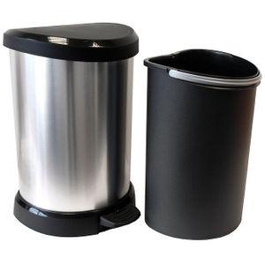 Mülleimer Tretabfalleimer Küche Abfall Müll Pedaleimer Toiletteneimer 70169