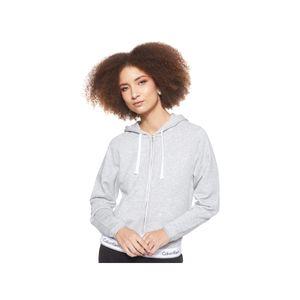 Calvin Klein Underwear Modern Baumwolle Top Hoodie Full Zip Grey Heather M