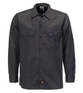 Dickies Short Sleeve Work Shirt Black, Größe: L