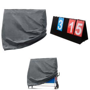 2tlg Schutzhülle Abdeckhaube Tisch Anzeigetafel für Tischtennisplatte Ping-Pong Tisch