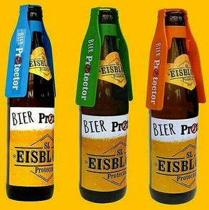 Bier Protector - Der Insektenschutz für Bierflaschen - 3 Stück - SL Eisblock Sparpaket Neuheit