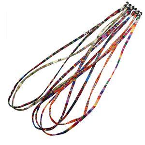 5er Set Einstellbare Multicolor Sonnenbrillen Kette Schnur Brillenhalter Brillen Halter kette Brillenband Brillenkette