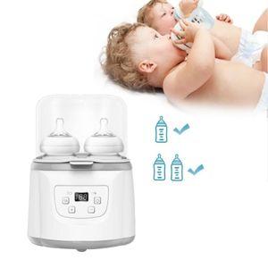 Hikeren Babyflaschenwärmer, Doppelflaschensterilisator und Babynahrungswärmer, multifunktionaler Milchheizersterilisator