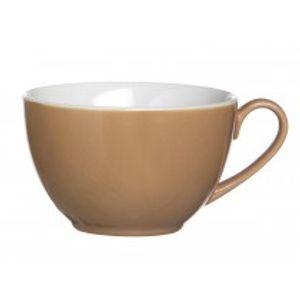 Flirt by R&B 545784 Doppio Kaffee-Obere / Kaffeetasse 180 ml, Porzellan, nougat (1 Stück)