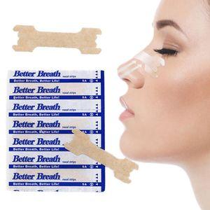 Darmowade 55 mm x 16 mm 100 Stück Nasenpflaster Better Breath Atmen