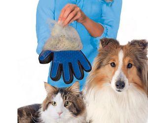 Pflege Handschuh Fell Tierhaar Hunde Katzen Bürste Fellpflegehandschuh Massage