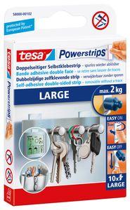 tesa Powerstrips LARGE PROMOPACK Haltekraft: max. 2,0 kg 12 Stück
