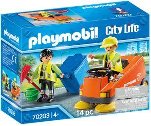 PLAYMOBIL City Life - Straßenkehrmaschine (70203)