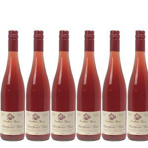 Rosé Mosel Weingut Markus Burg Qualitätswein Sweetheart lieblich und vegan (6x0,75l)