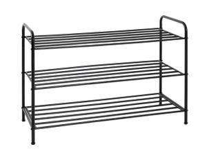 Haku Schuhregal, schwarz - Maße: 83 cm x 35 cm x 58 cm; 19597