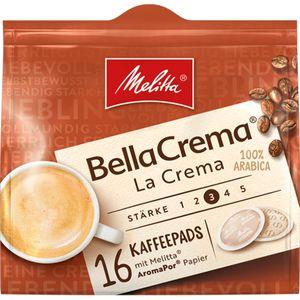 Melitta Kaffee Pads Bella Crema mild und harmonischer Geschmack 105g