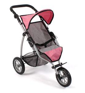 Jogging Buggy Leon, melange pink