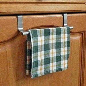 Handtuchstange EDELSTAHL Küche Bad Handtuchhalter Tuchhalter Ablage ohne bohren