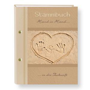 Stammbuch der Familie Hand in Hand Kind Stammbücher A5 Familienstammbuch Trauung Stammbaum Maritim Strand Hochzeit Meer