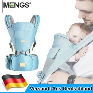 Ergonomische Babytrage Kindertrage Bauchtrage Rückentrage - Walk 3in1 -bis 20 KG-Hellblau