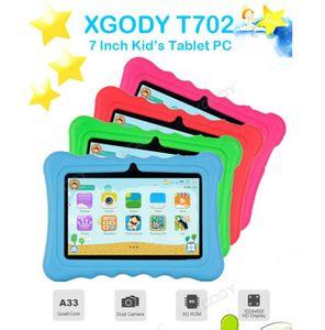 Darmowade 7-Zoll-Kindertablett Android 32 GB ROM Quad-Core-WLAN-Tablet, Kindermodell