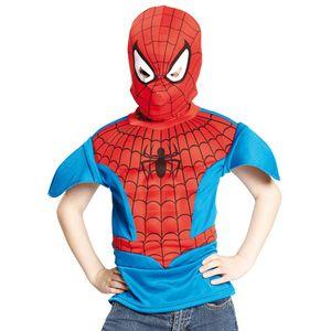 Spiderman Kinder Kostüm-Set, Größe:M