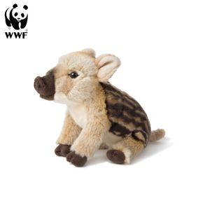 WWF Plüschtier Wildschwein Frischling (23cm)  lebensecht Kuscheltier Stofftier Plüschfigur