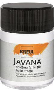 Javana Stoffmalfarbe für helle Stoffe Weiß