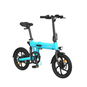 Xiaomi HIMO Z16 Elektrofahrrad Mountainbike E-Bike Klappbar, 25 km/h 250W 80km, LCD-Display, 3 Fahrmodi, IPX7 WASSERDICHT, bis 100kg, Blau