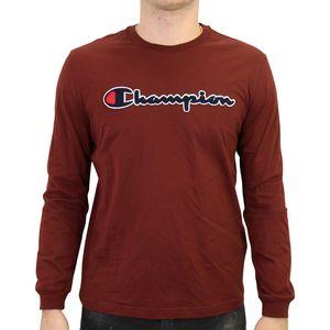 Champion Rundhals-Sweatshirt Herren Weinrot (213517 MS544) Größe: L
