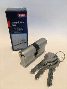 ABUS Profildoppelzylinder TI14ST 45/55 mm Anzahl Schlüssel 3 verschiedenschließend
