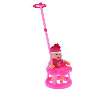 Mini schöne baby puppe \\u0026 puppe kinderwagen set simulation möbel spielzeug rose rot Rosenrot wie beschrieben Puppen wiedergeborene Vorräte
