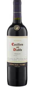 Casillero del Diablo Merlot Reserva trocken Chile | 13,5 % vol | 0,75 l