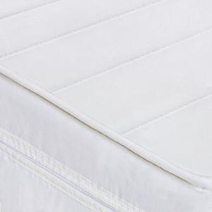 Matratze 80x190 aus Komfortschaum - H2 - Höhe ca 11 cm - Waschbarer Mikrofaserbezug - Weiche Matratze mit guter Körperanpassung - optimal für Kinder