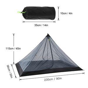 Outdoor Camping Zelt Ultraleichtes Netzzelt Insektenschutznetz Zeltschutz 1-2 Personen Tragbares faltbares Campingzelt