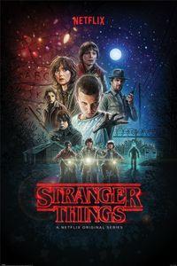 Stranger Things Poster - One Sheet (91 x 61 cm)