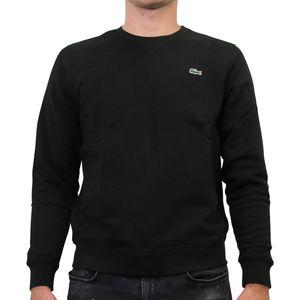 Lacoste Sweatshirt mit Rundhalsausschnitt Herren Schwarz (SH7613 031) Größe: 6 (XL)